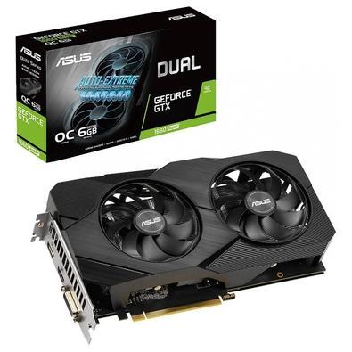 Placa de Vídeo Asus Dual NVIDIA GeForce GTX 1660 Super OC EVO, 6GB, GDDR6 - DUAL-GTX1660S-O6G-EVO