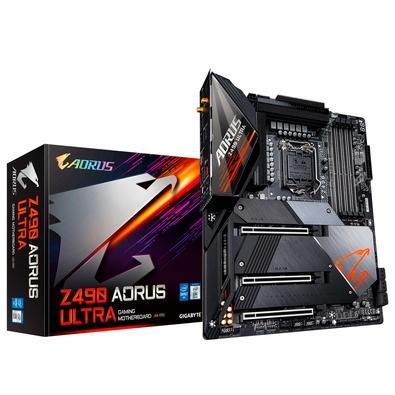 Placa-Mãe Gigabyte Aorus Z490 Aorus Ultra (rev 1.0), Intel LGA 1200, ATX, DDR4