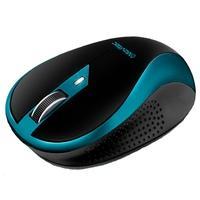 Mouse Sem Fio Movitec Office, Preto/Azul - OMW-02