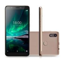 Smartphone Multilaser F Pro, 16GB, 5MP, Tela 5.5´, Dourado + Capa e Película - P9119