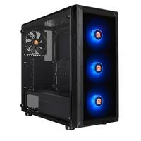 Gabinete Gamer Thermaltake Versa J23, Mid Tower, RGB, com FAN, Lateral em Vidro - CA-1L6-00M1WN-01