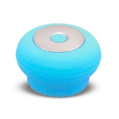 Escova Sônica Para Limpeza Facial Multilaser Bella Mini, Recarregável, Azul - HC185