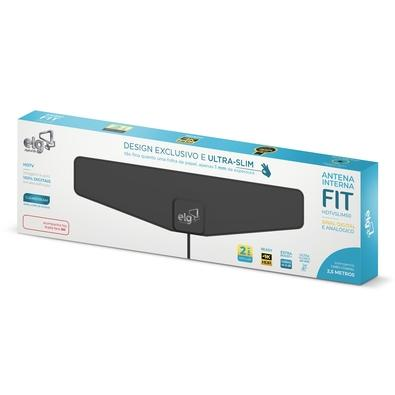 Antena Interna ELG Fit, Perfil Ultra Slim, 4K, HDR - HDTVSLIM50