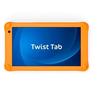 Tablet Positivo Twist Tab Kids, Android Oreo Go Edition, 32GB, Tela de 7´, Preto + Capa de Borracha - T770KC