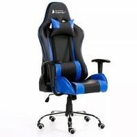 Cadeira Gamer Bluecase Titanium Blue/Black - BCH46BBK