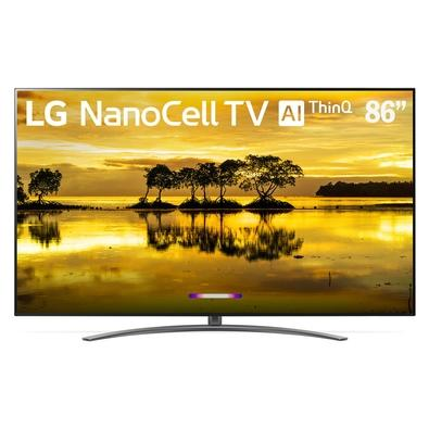 Smart TV NanoCell 86´ UHD 4K LG, Conversor Digital, 4 HDMI, 3 USB, Wi-Fi, HDR, ThinQ AI - 86SM9070PSA