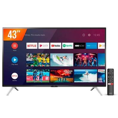 Smart TV LED 43´, Full HD, SEMP, Android, 2 HDMI, 1 USB, Bluetooth, Wi-Fi, HDR, Google Assistant - 43S5300FS