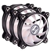 Cooler FAN Lian Li Bora Lite Black, 120mm, RGB - BR LITE 120-3 BLACK