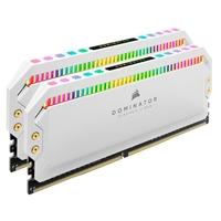 Memória Corsair Dominator Platinum 16GB (2x8GB), 3600Mhz, DDR4, C18, Branca - CMT16GX4M2C3600C18W