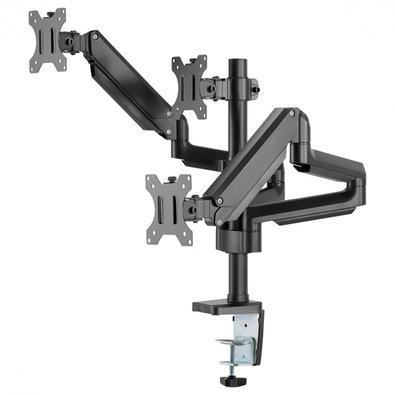Suporte para 3 Monitores PCYes, Articulado - 31596