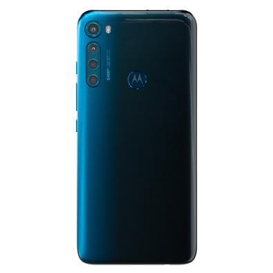 Smartphone Motorola One Fusion+, 128GB, 64MP, Tela 6.5´, Azul Indigo + Capa Protetora - PAJV0011BR