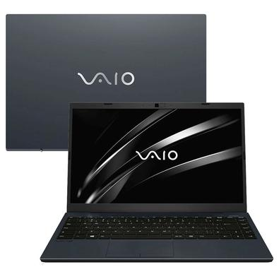 Notebook Vaio FE14 Intel Core i3-8130U, 4GB, 1TB, Linux, 14´, Cinza Escuro - 3341194