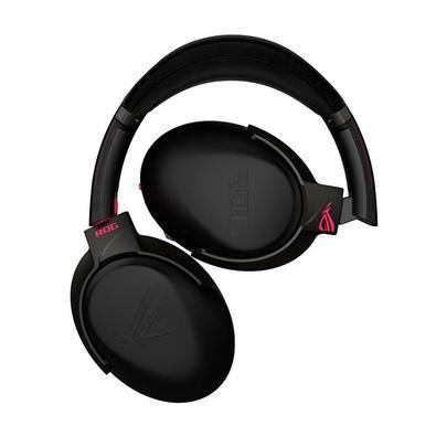 Headset Gamer Sem Fio Asus ROG Strix GO 2.4 Electro Punk, Drivers 40mm - 90YH02P1-B3UA00