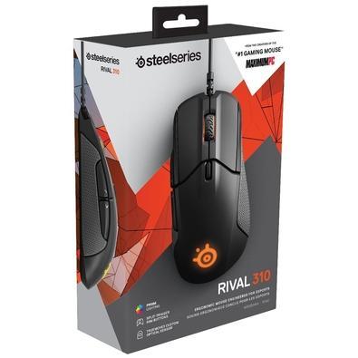 Mouse Gamer Steelseries Rival 310, RGB, 6 Botões, 12000DPI - 62433