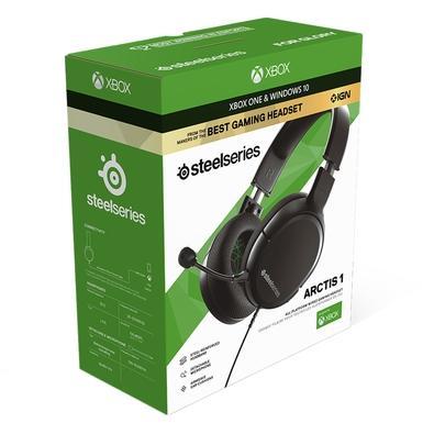 Headset Gamer Steelseries Arctis 1 para Xbox, Cancelamento de Ruído, Preto - 61426