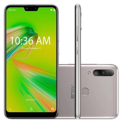 Celular Smartphone Asus Zenfone Shot Plus Zb634kl 128gb Prata - Dual Chip
