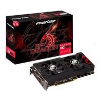 Placa de Vídeo PowerColor Red Dragon AMD Radeon RX 570, 8GB, GDDR5 - AXRX 570 8GBD5-DHDV3/OC