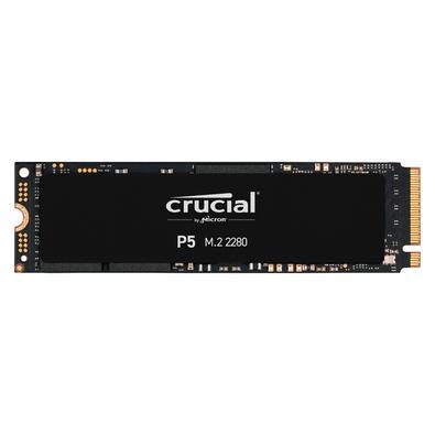 SSD Crucial P5, 2000GB, M.2 NVMe, Leituras: 3400Mb/s e Gravações: 3000Mb/s - CT2000P5SSD8