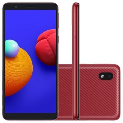 Smartphone Samsung Galaxy A01 Core, 32GB, 8MP, Tela 5.3´, Vermelho - SM-A013MZRSZTO