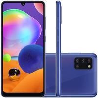 Smartphone Samsung Galaxy A31, 128GB, 48MP, Tela 6.4´, Azul - SM-A315GZBRZTO