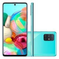 Smartphone Samsung Galaxy A71, 128GB, 32MP, Tela de 6.7´, Azul - SM-A715FZBPZTO