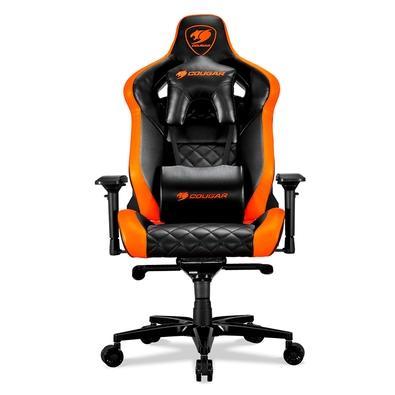 Cadeira Gamer Cougar Armor Titan, Orange / Black - 3MATTNXB.0001