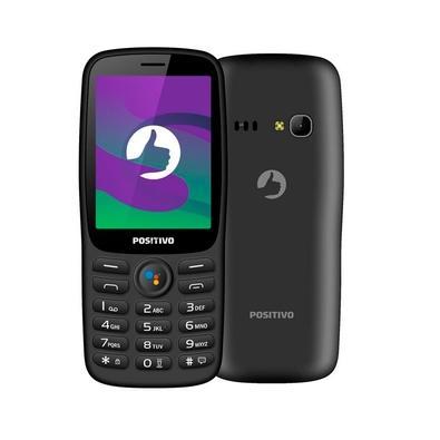 Celular Positivo P70S, Tela 2.8´, Câmera, Lanterna, Bluetooth, Rádio FM, Dual SIM - 11159571