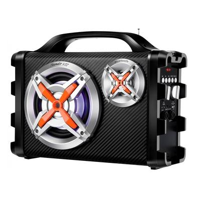 Caixa Amplificadora Mondial Multi Connect Thunder IX, 100W RMS, Bluetooth, USB, Micro SD - MCO-09