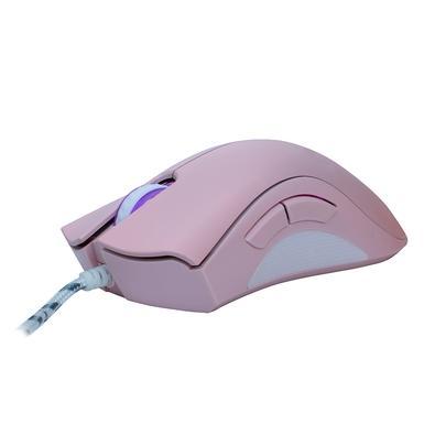Mouse Gamer Oex Game Boreal, LED Branco, 5 Botões, 7200DPI, Pink - MS 319