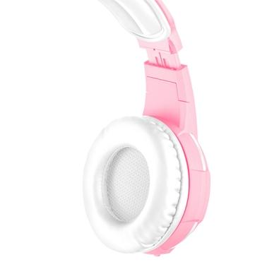 Headset Gamer Trust GXT 310P Radius, Drivers 40mm, Pink - 23203