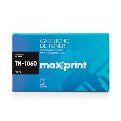Toner Maxprint para Brother HL TN-1060, Preto - 5612948