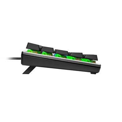 Teclado Gamer Mecânico Compacto Cooler Master SK620, RGB, Switch Low Profile Brown, US, Cinza Espacial - SK-620-GKTM1-US