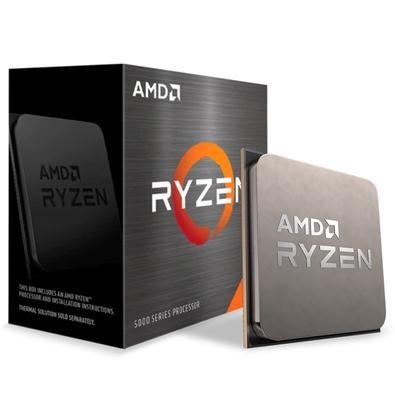 Processador AMD Ryzen 7 5800X, Cache 36MB, 3.8GHz (4.7GHz Max Turbo), AM4 - 100-100000063WOF