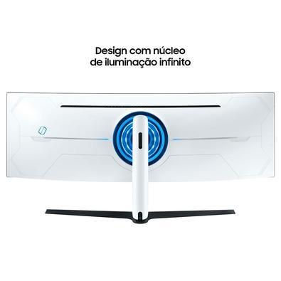 Monitor Gamer Samsung Odyssey LED 49´ Curvo DQHD, HDMI/DisplayPort/USB, G-Sync, FreeSync, 240Hz, 1ms, Altura Ajustável - LC49G95TSSLXZD