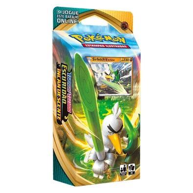 Starter Deck Pokémon Espada e Escudo 3, Escuridão Incandescente, Sirfetch - 89087