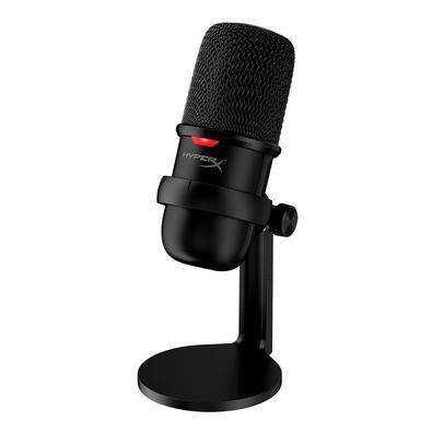 Microfone HyperX Solocast, USB, Compatível PS4, Mac, PC - HMIS1X-XX-BK/G