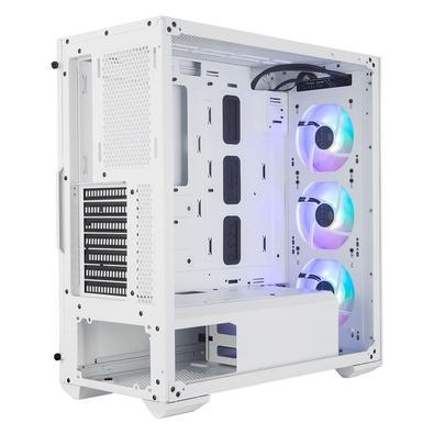 Gabinete Gamer Cooler Master TD500, Mid Tower, 3x Cooler Fan Frontal ARGB, Lateral em Vidro Temperado- MCB-D500D-WGNN-S01