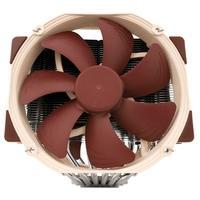 Cooler para Processador Noctua, para AMD AM4, FAN de 140mm, Marrom - NH-D15 SE-AM4