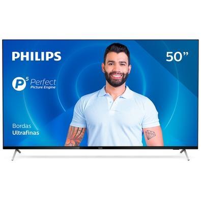 Smart TV Philips 50´, 4K UHD, 3 HDMI, 2 USB, WiFi, Bluetooth, Dolby Atmos - 50PUG7625/78