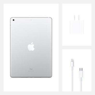iPad Apple 8a Geração 32GB, WiFi, Prata - MYLA2BZ/A