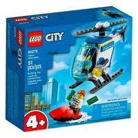 LEGO City - Helicóptero da Polícia, 51 Peças - 60275