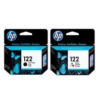 Kit Cartucho de Tinta HP 122 Preto - CH561HB + Cartucho de Tinta HP 122 Colorido CH562HB
