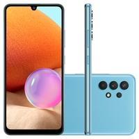 Smartphone Samsung Galaxy A32, 128GB, 4GB RAM, Octa-Core, Câmera Quádrupla, Azul - SM-A325MZBRZTO