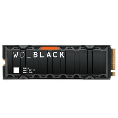 SSD WD Black SN850 500GB NVMe, PCIe Gen4, Hotsink, Leitura 7000MB/s e Gravação 4100MB/s - WDS500G1XHE