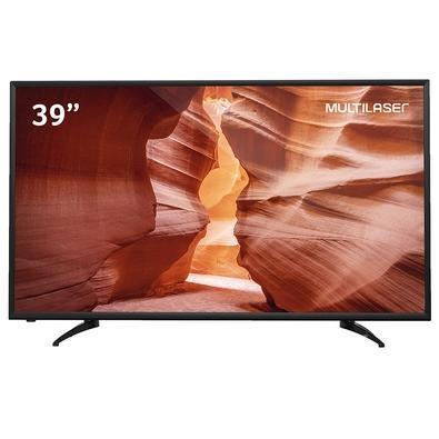 TV Multilaser 39 HD, HDMI/USB, Função DNR, Bivolt - TL028
