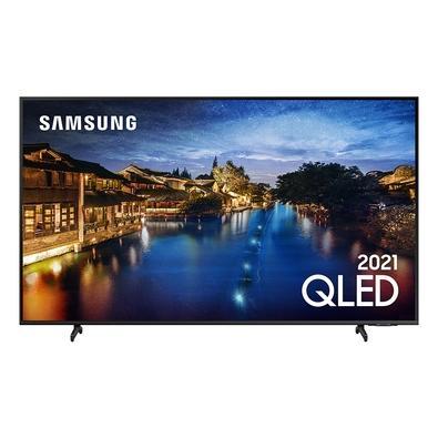 Smart TV Samsung 65´ 4K QLED 65Q60A, Tela Infinita, Processador IA, HDR10+, Design Slim, Alexa Built In - QN65Q60AAGXZD