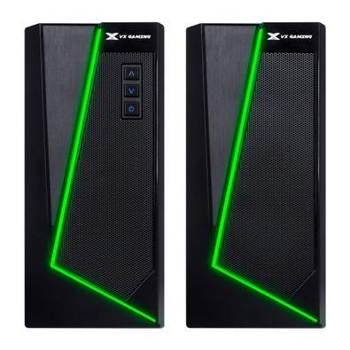 Caixa de Som Gamer Vinik 2.0 Blast, Bluetooth, RGB LED, 10W, 130Hz - 20KHz, 5V, Preto - CXBLRGB10W