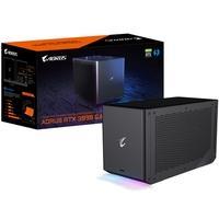 Placa de Vídeo Gigabyte AORUS RTX 3090 GAMING BOX, 24GB GDDR6X, RGB Fusion e WaterForce - GV-N3090IXEB-24GD