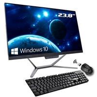 Computador All in One Hometech, Intel Celeron G5905, 8GB, SSD 240GB, 23.8´ Full HD, Windows 10 - HTA24G2-RIW
