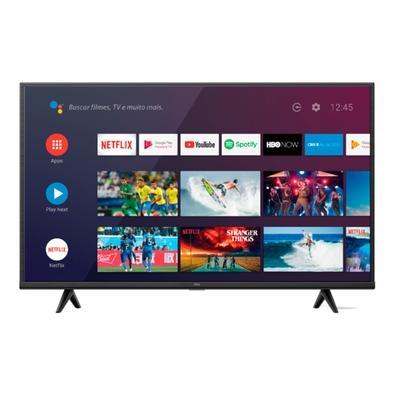 Smart TV LED 50´ 4K UHD HDR TCL P615, Wifi e Bluetooth, 3 HDMI, 2 USB, 60Hz, Modo de Jogo - 50P615